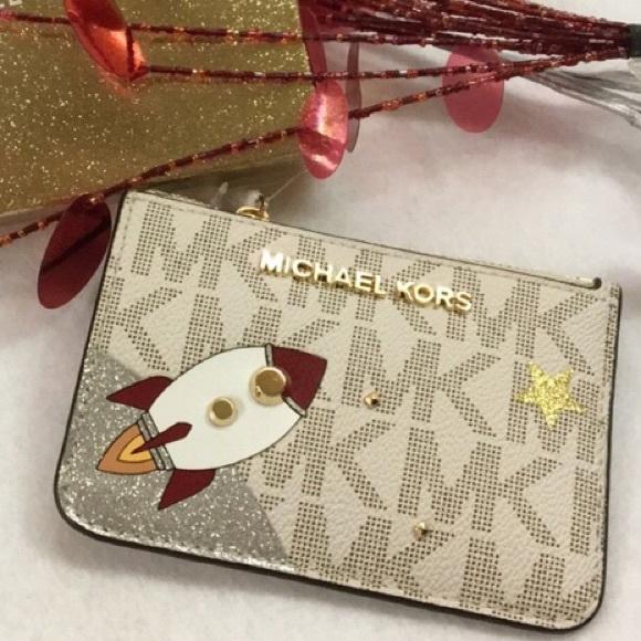 08df0cc52e895a MICHAEL Michael Kors Bags | Michael Kors Rocket Keyring Chain Wallet ...